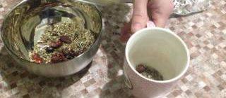 Как самим приготовить монастырский чай от остеохондроза